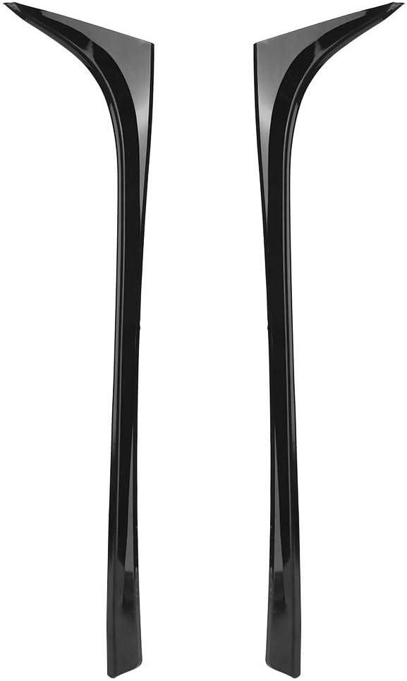 2 St/ück Auto Heckscheibe Seitenfl/ügel Spoiler Fit f/ür 7 MK7 7//7.5 2014-2018 Bigking Spoiler hinten Black