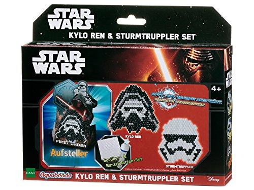 Aquabeads 30159 Star Wars Kylo Ren und Sturmtruppler Set Basteln mit Perlen