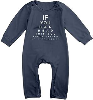 Infant Baby Boys Girls 100/% Organic Cotton Romper Pajamas 0-2T Repeat Eat Sleep Wrestle