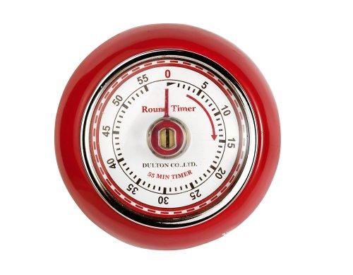 Eddingtons Magnet-Timer Retro, rot