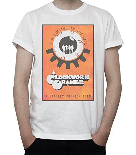 DreamGirl Clockwork Orange Poster Mens T-Shirt