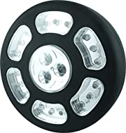 21 Ultra bright LEDs Push function to switch on and off Ideal for camping, the car and around the home Includes a magnet and a hanging hook Includes 4 x AA batteries