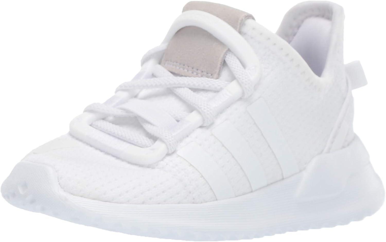 adidas Originals U_Path Run Sneaker, White/White/White, 13 US Unisex Little Kid