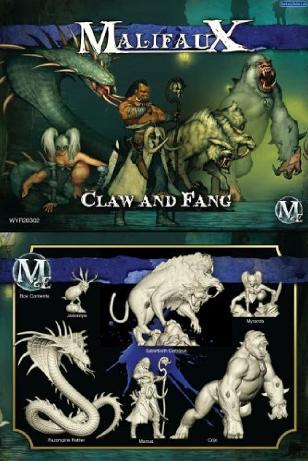 excelentes precios Malifaux  Arcanists Claw and Fang by by by Malifaux  Felices compras