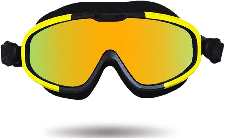 Unbekannt Große Schwimmbrille - HD Komfort und Cool - Anti-Fog- und UV-Schutz Geeignet für Erwachsene Männer und Frauen B07PHNX4LT  Stabile Qualität