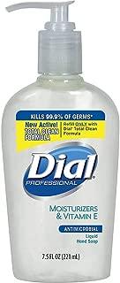 Dial Sensitive Skin Liquid Hand Soap - 7.5 fl oz (221.8 mL) - Pump Bottle Dispenser - Hand, Skin - Clear - Antimicrobial, Hypoallergenic - 12 / Carton