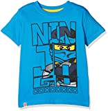 Legowear Boy's Lego Ninjago M-72166-T-SHIRT S/S T-Shirt, Blue, 6 Years (Size:116)