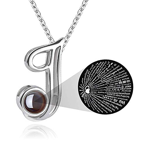 M MOOHAM Initial Necklace for Women