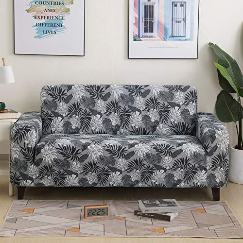 PPOS Fundas de sofá cómodas y Suaves más Nuevas para Sala de Estar, Fundas de sofá elásticas, Fundas de sofá de Esquina, A11, Loveseat 145-185cm-1pc