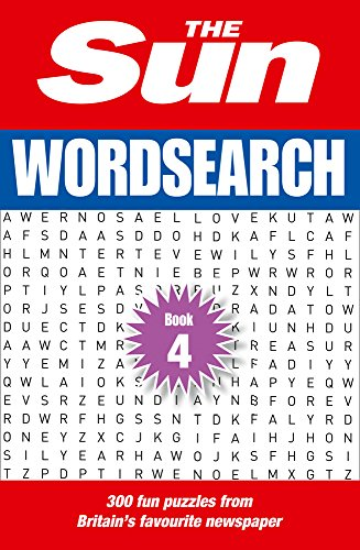 The Sun Wordsearch Book 4: 300 fun puzzles from Britain's favourite newspaper (The Sun Puzzle Books)