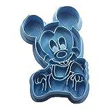 Cuticuter Mickey Bebe Disney Cortador de Galletas, Azul, 8x7x1.5 cm