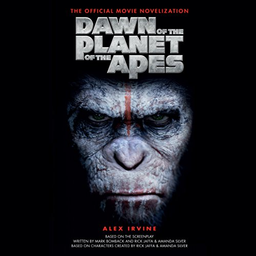 Dawn of the Planet of the Apes audiobook cover art