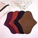 Giocare Reusable Clothpads (Feelfree) Reusable Cloth Menstural Pads(pack of 4)