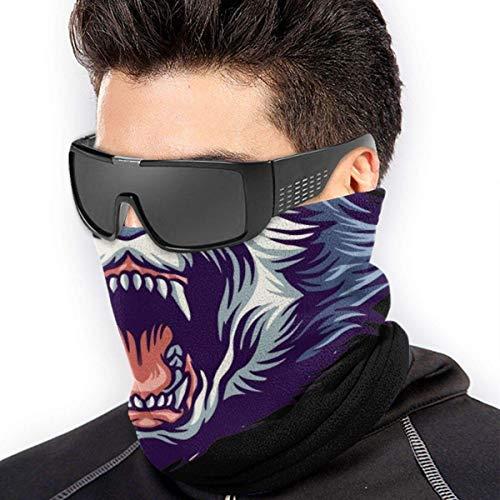 Niet te gebruiken hoofdbanden voor buiten, nekwarmer, handsjaal, Siberische Husky kop, hoofdwrap buiten, winddichte kraag, hoeden, toversjaal