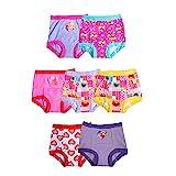 Sesame Street Unisex-Baby Toddler Girls' Potty Training Pants Multipack, SesameG7pk, 2T