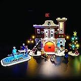 Kit di Illuminazione A LED per Lego Creator Winter Village Fire Station,Compatibile con Il Modello Lego 10263 Mattoncini da Costruzioni (Non Incluso nel Modello)
