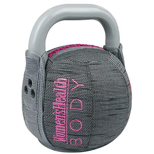 WOMEN\'S HEALTH BODY Soft Kettlebell | Richtiges Tool für Shaping, Conditioning und Kraftaufbau | Textilüberzug für Training zu Hause (8)