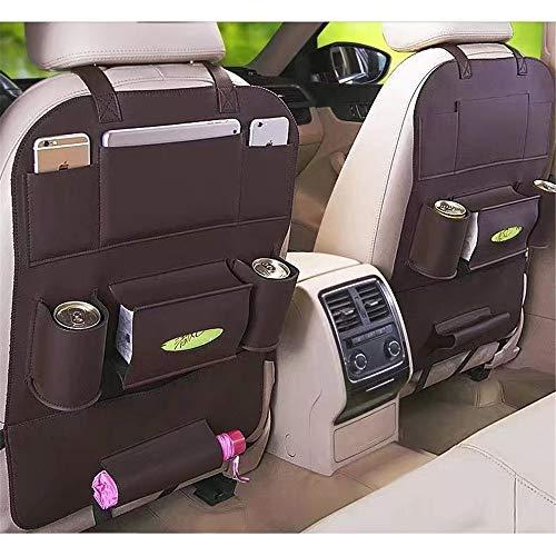 Organisateur de siège arrière de voiture 1 pièce de protection siège de voiture arrière organisateur Kick Mats PU cuir dossier Protection de voiture organisateur de siège for Kids Toys Baby Stuff