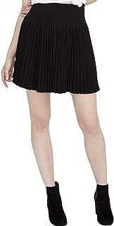 Womens Pleated A-Line Skirt