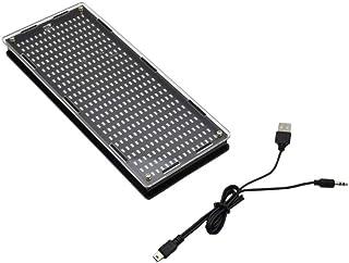 Hemobllo Analyseur de Spectre Audio Analyseur de Spectre Audio Kit DIY Indicateur de Niveau à Affichage numérique à LED
