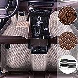 Mercedes Benz S-Klasse W220 W221 Autoteppiche, personalisierbar, aus Leder, wasserdicht, Fußmatten, vorne, hinten