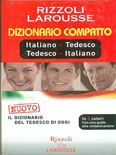 Dizionario Larousse compatto italiano-tedesco, tedesco italiano