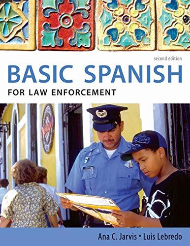 Basic Spanish for Law Enforecement