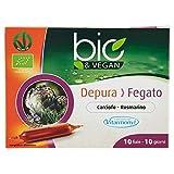 DEPURA FEGATO BIO&VEGAN Vitarmonyl • Integratore 10 fiale • 100% vegano • Registrato Ministero Salute Italiano