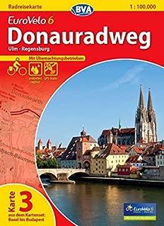 Eurovelo 6 / K.3 - Ulm - Regensburg GPS wp r/v cycling map (German Edition)