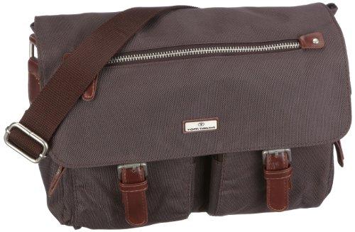 TOM TAILOR Umhängetasche Damen, RINA, (braun 29), 26x20x10 cm, TOM TAILOR Taschen für Damen, Messenger Bag