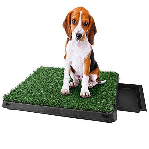 mymotto umweltfeundlich Dog Toilette dell' animale domestico cucciolo Toilet Training Matte in ABS 63x 50x 7cm