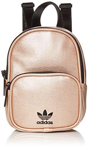 adidas Originals Mochila unisex de piel sintética Mini, Unisex, Originals Mini mochila de piel sintética, 977344, oro rosa, Talla única