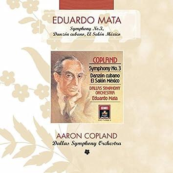 Copland: Symphony No. 3 - Danzon Cubano - El Salon Mexico