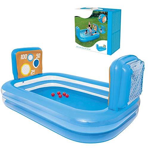 Turtle Story Piscina inflable, Piscina de remo engrosada Juguetes de agua de verano para bebés niños JXNB