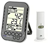 Klimalogg Pro TFA 30.3039 - Registro climático profesional, incluye transmisor de radio 30.3180 (antracita)