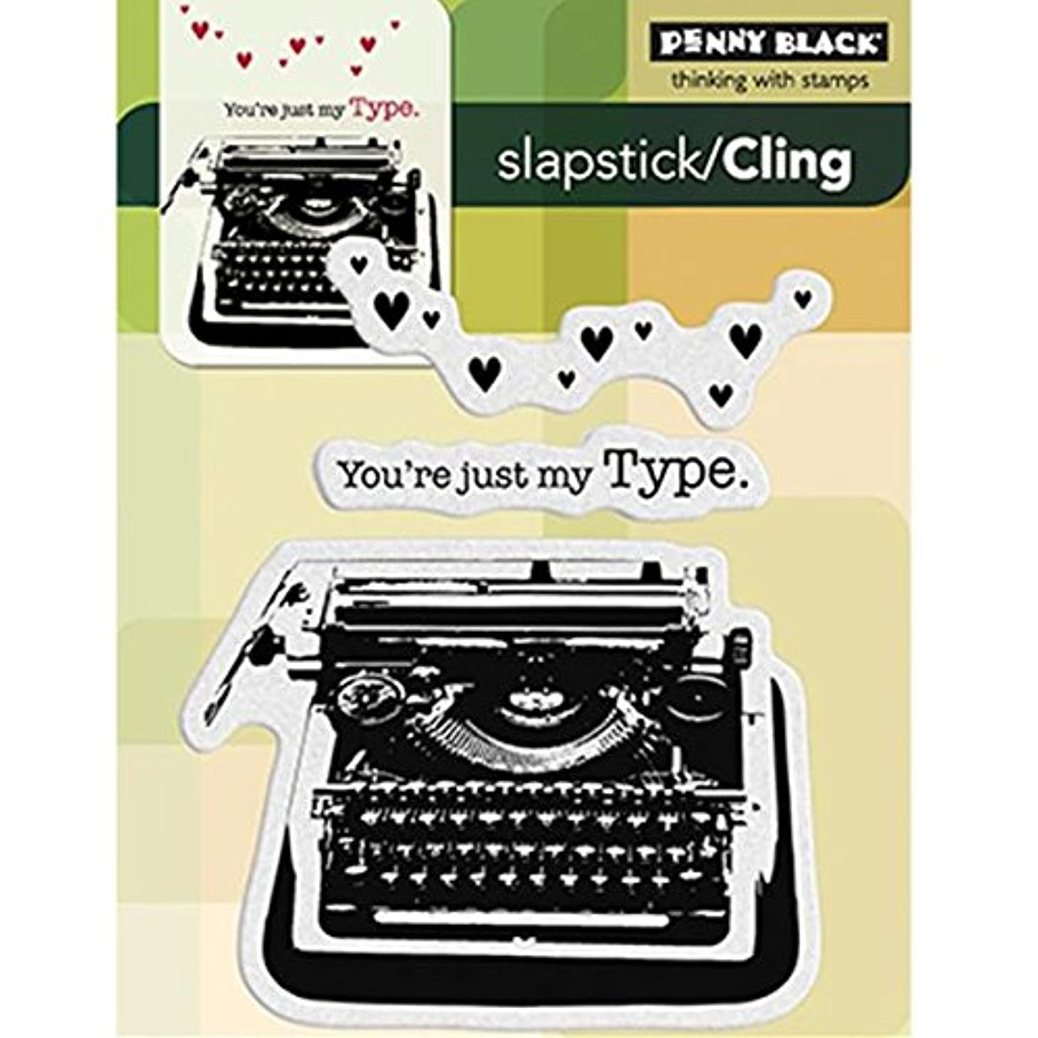 Penny Black 40-189 Cling Rubber Stamp, My Type