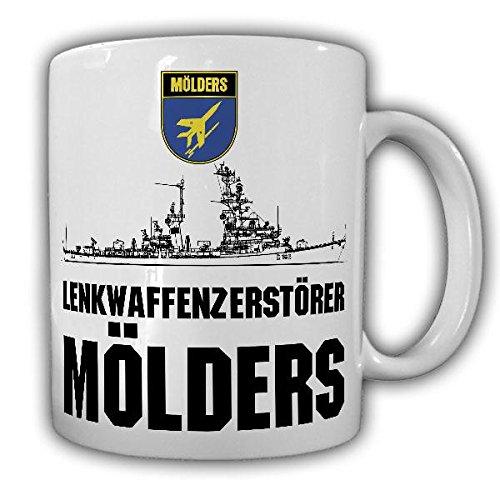 Tasse Mölders D186 Zerstörer Wappen Schiff Bundeswehr Marine Klasse 103 Lenkwaffen Bundesmarine #21818