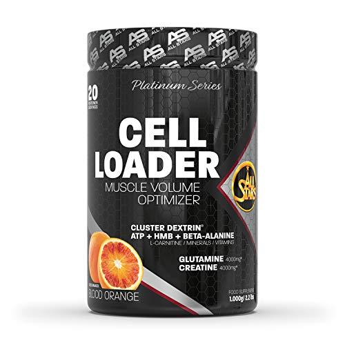 All Stars Cell Loader Muscle Volume Optimizer, Blood Orange, 1er Pack (1 x 1.000 g) Post-Workout Drink für Regeneration und Muskelaufbau