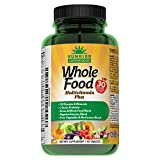 Ultimate Wholefood Multivitamin For Men & Women  Natural Probiotic, Omega 3 & 6, Mushroom & Whole Food Blends With 30 Vitamins & Minerals  Boost Digestion, Immune System & Metabolism  90 Vegan Tabs