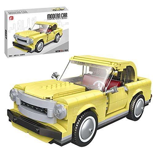 Koyae Juego de construcción de piezas de construcción para coche, 2 en 1, modelo clásico y moderno con bloques de construcción 3588 compatible con Lego Technic