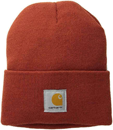 Carhartt Men's Watch Hat, Chili, One Size