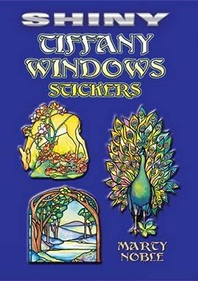 Shiny Tiffany Windows Stickers (Dover Stickers)