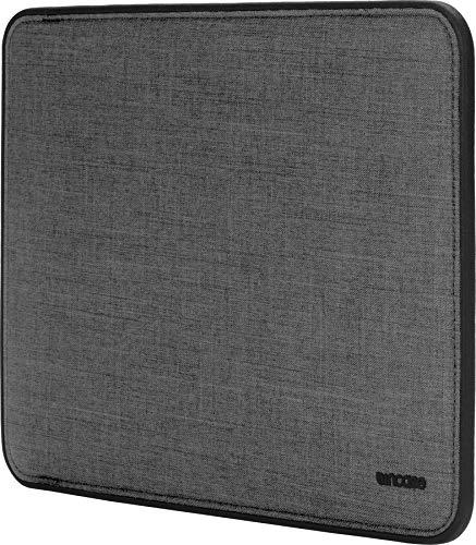 Incase Icon Sleeve Schutzhülle Apple MacBook Pro 13' (2016 - 2020) / Air 13,3' (Late 2018-Early 2020) - grau [Woolenex-Material I TENSAERLITE®-Bumper I Kunstfell-Interieur I Magnetverschluss]