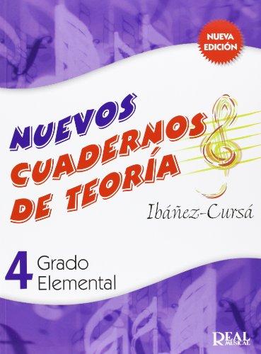 Cuadernos de Teoría, Grado Elemental Volumen 4 (RM Teoria de la musica)
