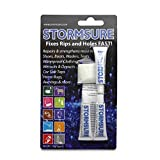 Stormsure Flexible Repair Adhesive - der Alleskönner für flexible Materialien - 3 x 5g Blistercard