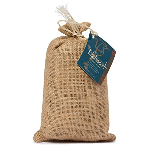 Organic Espresso Coffee Beans By LifeBoost - Premium Fair Trade Single Origin Nicaragua Espresso Coffee Beans - 12 oz Bean Espresso