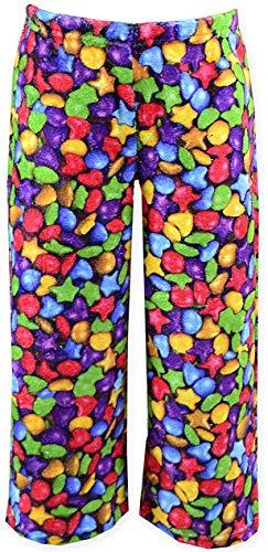 Up Past 8 Big Girls'  Fuzzy Pant, Yummy Gummy, 8
