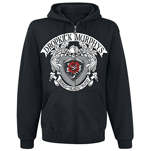 Dropkick Murphys - Signed and Sealed In Blood Kapuzen-Jacke, schwarz, Grösse XXL