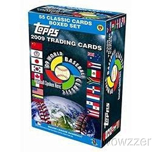 2009 Topps World Baseball Classic Factory Sealed 55 Card Box Set with YU DARVISH First Ever Topps ROOKIE! Also Includes Derek Jeter, Albert Pujols, Chipper Jones, Ichiro and Many More !