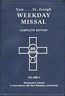 St. Joseph Weekday Missal, Complete Edition, Vol. 2: Pentecost to Advent